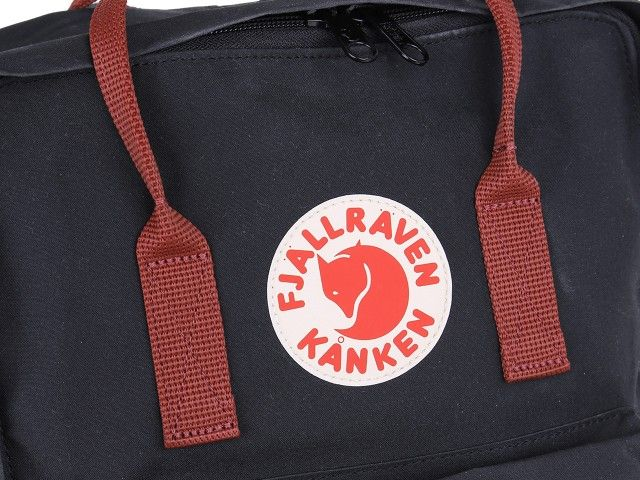 Plecak KANKEN FJALLRAVEN Black-Ox Red F23510-550-326 zdjęcie 6