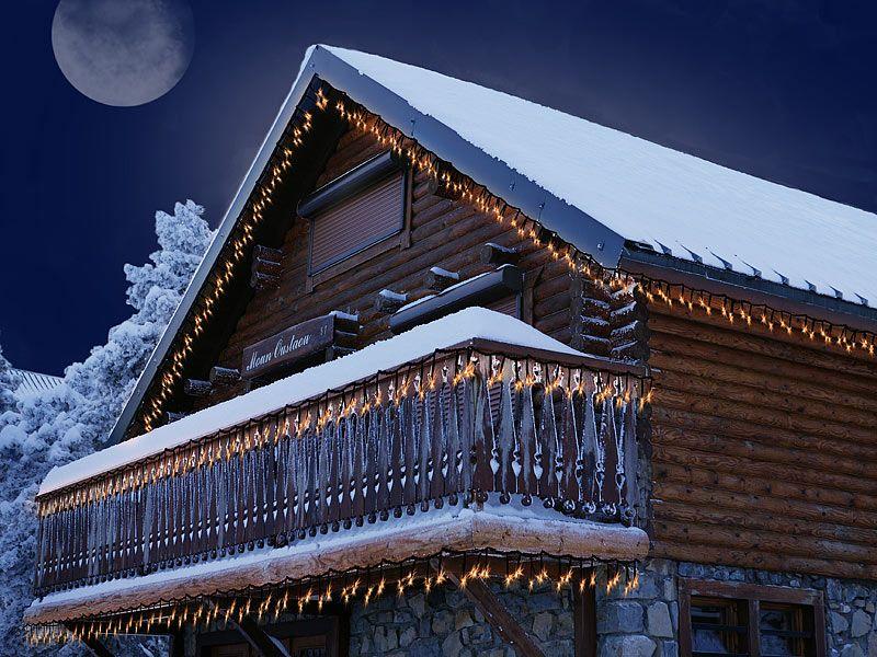 Lampki choinkowe białe LED 4 m Lunartec zdjęcie 6