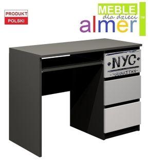 biurko NEW YORK C5 100x50 w.75