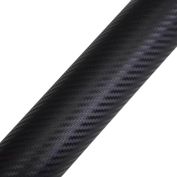 Naklejka samochodowa winyl/carbon 3D czarna 152 x 500 cm zdjęcie 5