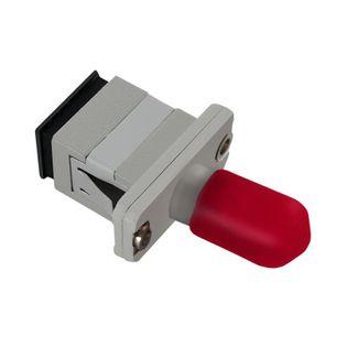 Adapter światłowodowy hybrydowy Qoltec SC/UPC-ST/UPC simplex MultiMode