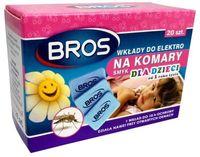 Bros  Wkład  Do Elektrofumigator Na Komary (Dla Dzieci) + 20 Płytek ( Wkładów)