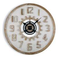 Zegar Ścienny Drewno MDF (70 x 6 x 70 cm)
