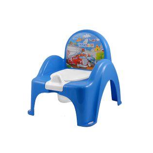 TEGA CS-007-120 Nocnik krzesełko AUTA niebieski