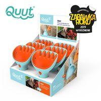 QUUT Zestaw łopatka + grabki Raki Vintage Blue + Mighty Orange, opakowanie zbiorcze 6 szt.