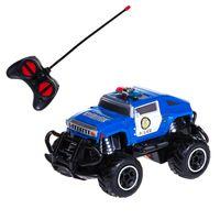 PEPCO - autko terenowe 1:43 RC policyjne, niebieskie
