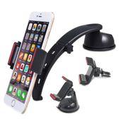 IMOUNT Uchwyt samochodowy na telefon do kokpitu deski szyby kratki