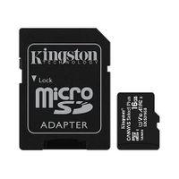 Kingston Karta pamięci microSD 16GB Canvas Select Plus 100MB/s Adapter