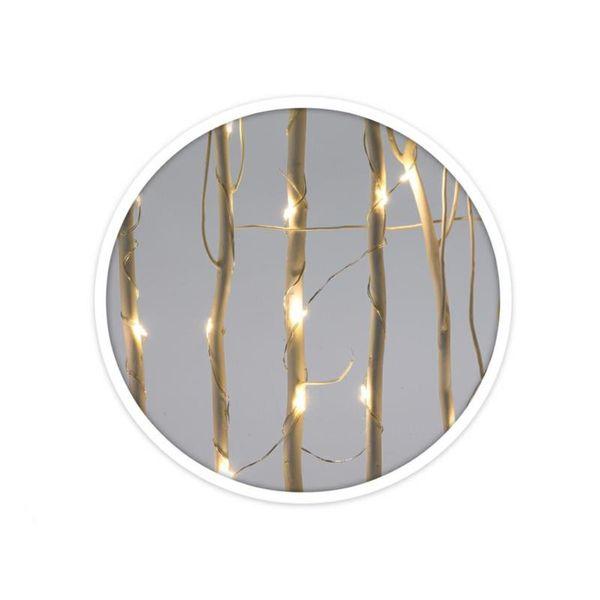 Choinka świąteczna drewniana LED zdjęcie 2