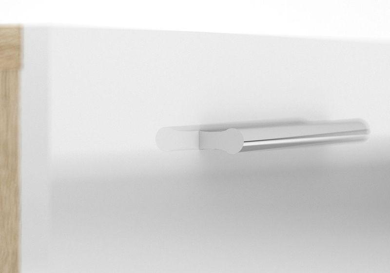PEPE biała komoda 4 szufladowa zdjęcie 9