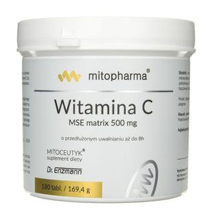 Dr. Enzmann Witamina C MSE matrix 500 mg - 180 tabletek