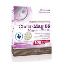 Olimp Chela-Mag B6 60 kapsułek - Długi termin ważności!