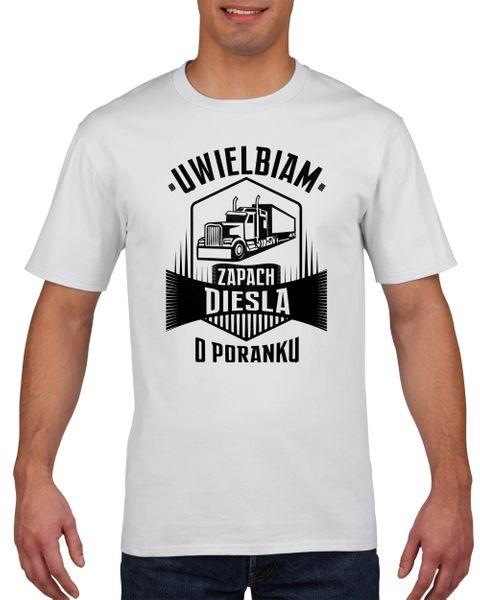 Koszulka męska ZAPACH DIESLA O PORANKU XXL na Arena.pl