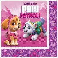 Serwetki urodzinowe Paw Patrol PSI PATROL PINK x20
