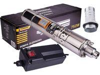 Pompa głębinowa śrubowa do wody 750W Powermat PM0811