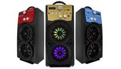 Głośnik Miniwieża Boombox 60W LED Bluetooth + Mikrofon RX-S50 G208Z zdjęcie 1