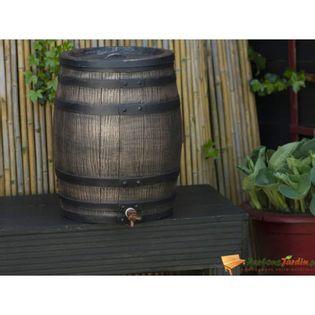 Nature Zbiornik Na Deszczówkę Stylizowany Na Drewniany, 50 L, Brązowy