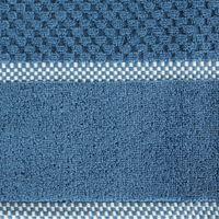 Ręcznik Frotte Bawełniany 90x50 cm Niebieski