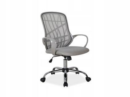 Fotel do biurka DEXTER dla dziecka SZARY