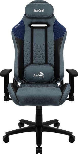 Aerocool Fotel gamingowy Aerocool AC-280 DUKE AEROAC-280DUKE-BK/BL (kolor niebieski) na Arena.pl