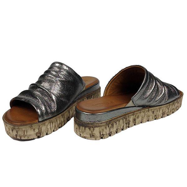 20ea98b0 Klapki Venezia 16010528737 C Rozmiar obuwia - 37, Kolor - Srebrny zdjęcie 4