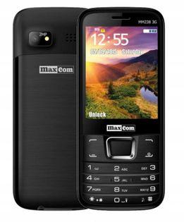 Telefon komórkowy Maxcom MM238 czarny