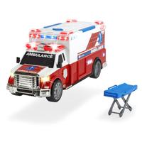 Dickie A.S. Pojazd Karetka Ambulans 33 cm + nosze