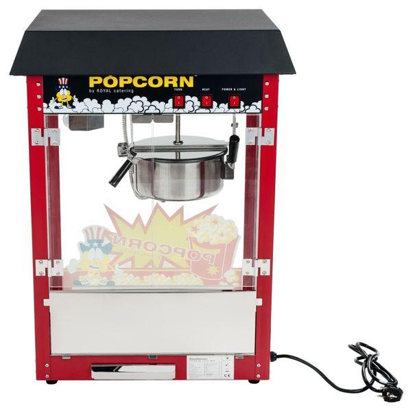 Maszyna do popcornu - czarny daszek Royal Catering RCPS-16E zdjęcie 5