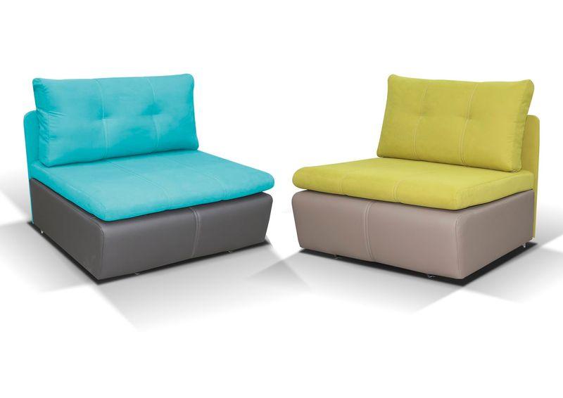 Fotel rozkładany RITO Tapicerowany Super kolory zdjęcie 1