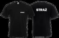 Koszulka męska STRAŻ roz XL