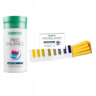 Zestaw LR na odkwaszanie organizmu Pro Balance + paski do pomiaru pH