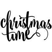 DEKORACJA świąteczna CHRISTMAS TIME czarny ŚWIĘTA