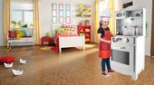 Kuchnia Drewniana Dla Dzieci z Oświetleniem LED U31 zdjęcie 2