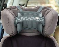 Opaska podtrzymująca głowę w foteliku samochodowym - szara