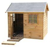 Domek ogrodowy dla dzieci 4IQ WITEK drewniany