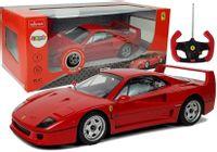 Auto Ferrari F40 Zdalnie Sterowany R/C 1:14 Czerwony 27 Mhz