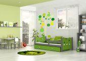 Łóżko dla dzieci MIKOŁAJ COLOR 160x80  szuflada + materac zdjęcie 9