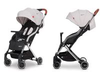 Euro Cart Spin bardzo lekki wózek spacerowy grey fox