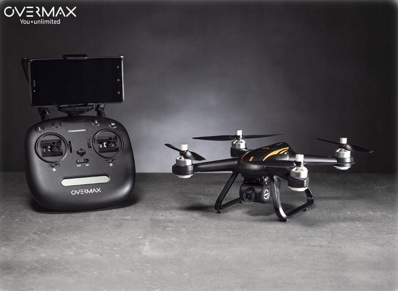 OVERMAX Dron X-BEE 9.0 GPS FULL HD WiFi FPV zdjęcie 4