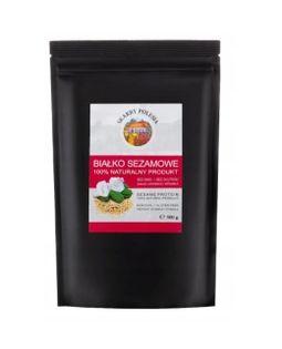 India Naturalne białko sezamowe wegańskie 500g