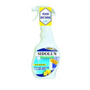 Sidolux crystal Płyn do mycia szyb Anty-para 500ml