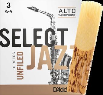 Stroik saksofon altowy 3S RICO Select Jazz UNFILED