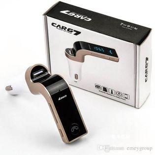 TRANSMITER FM G7 Bluetooth AD2P MP3 USB SD LCD