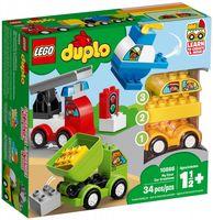 Klocki LEGO DUPLO Moje Pierwsze Samochodziki 10886