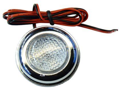 Lampa LED 3 SMD HP okragła uniwersalna 12v 24v obrysówka różne kolory