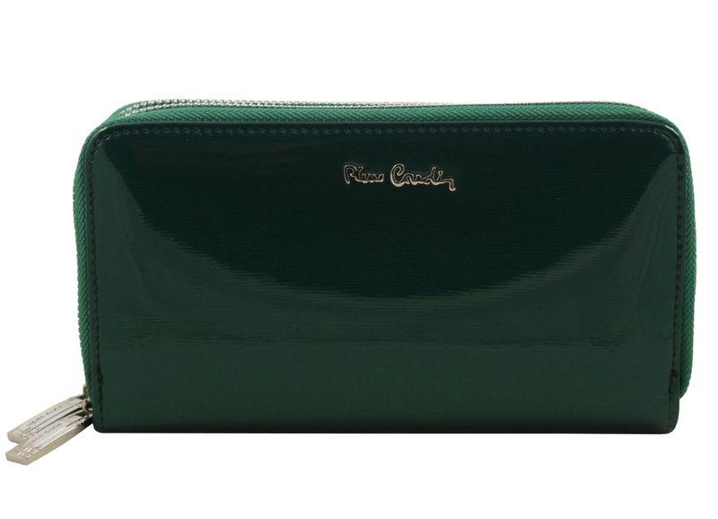 Saszetka podwójna damska Pierre Cardin, kolor zielony zdjęcie 2
