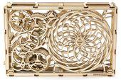 OBRAZ KINETYCZNY Mechaniczne Puzzle 3D Drewniane Wooden City