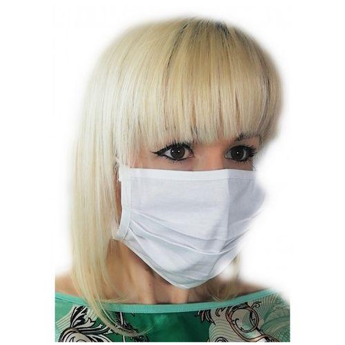 Biała maseczka bawełniana maska na twarz na Arena.pl