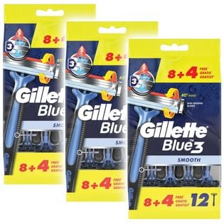 GILLETTE Blue 3 36 sztuk - maszynki do golenia