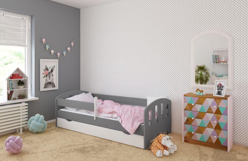 Łóżko FIFI 140x80 + szuflada + barierka zabezpieczająca + MATERAC zdjęcie 18